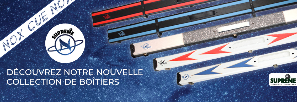Nouvelle collection Nox Cue boitiers