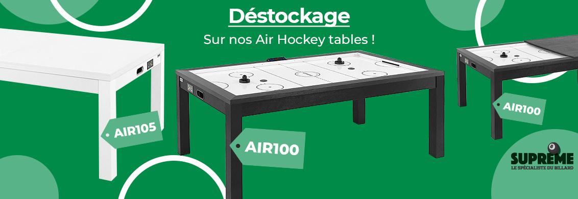 Déstockage air hockey table