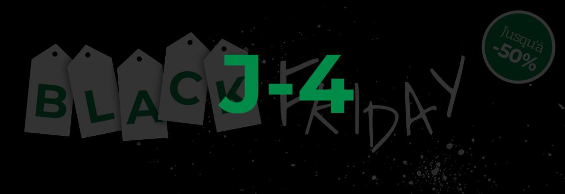 Black friday j-4