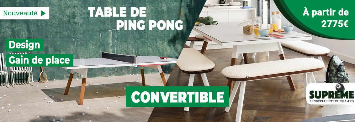 Supreme table ping pong achat