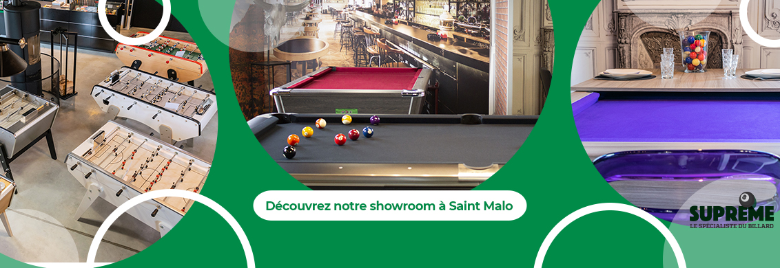 Supreme billards showroom