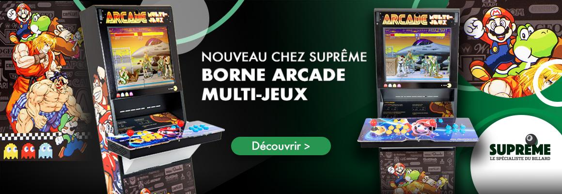 Borne arcade, jeux vidéos