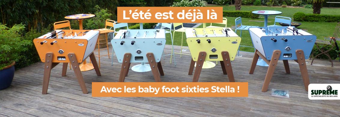 Baby foot sixtie Stella