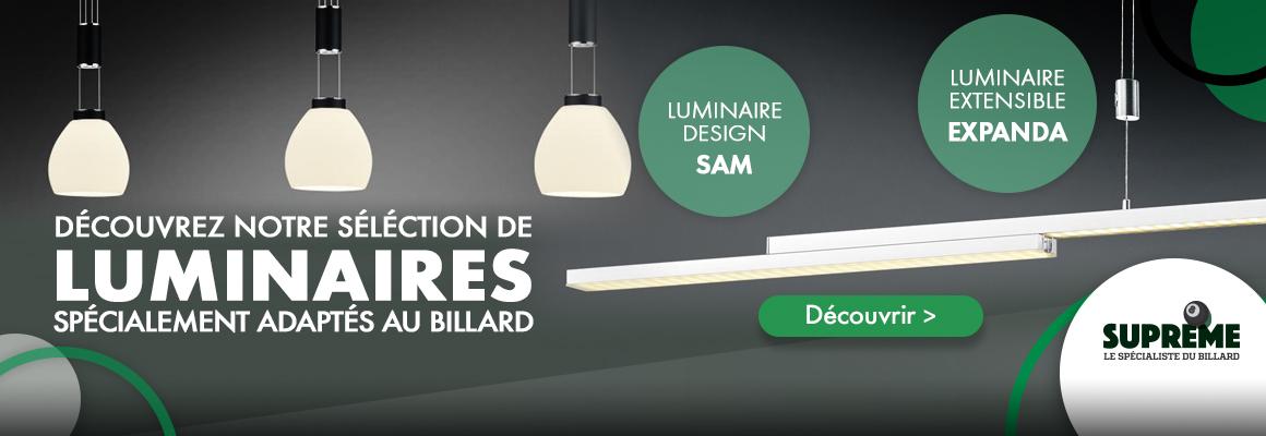 Luminaires billard