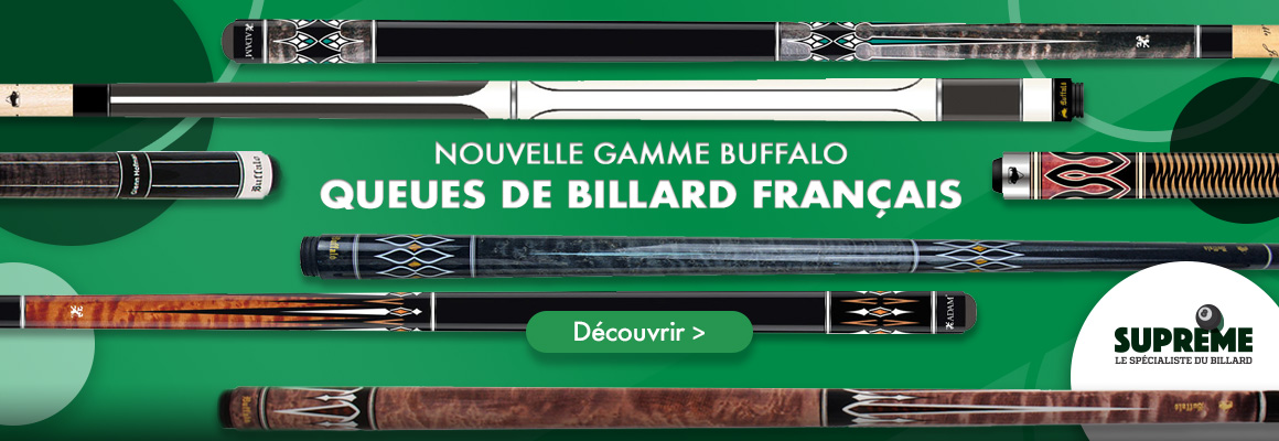 queues de billard Buffalo