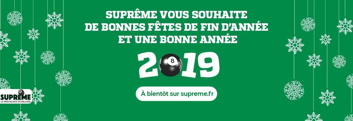 Supreme billard vente achat voeux 2019
