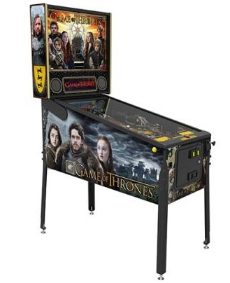 Le flipper Game of Thrones