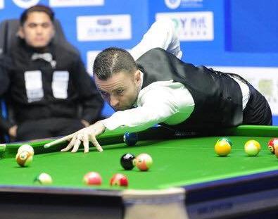 Lambert aux Championnats du Monde Chinese 8 Pool