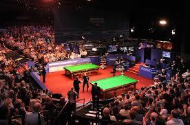 Les meilleurs joueurs de snooker du monde se donnent rendez-vous au Crucible Theatre
