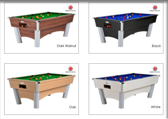 Billard Delta en 4 couleurs