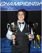 Sabrilla, Championne du Monde