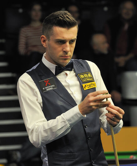 Mark Selby en pleine concentration