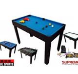 Billard Multi Jeux 21 en 1 Noire.