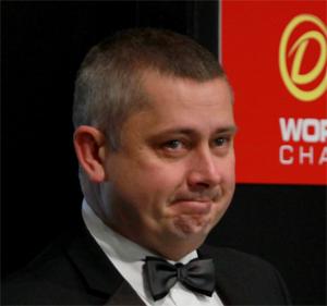 Arbitre des Championnats du Monde de snooker