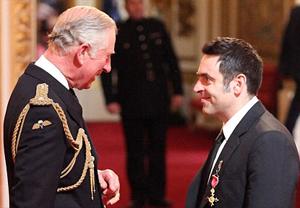Ronnie OBE