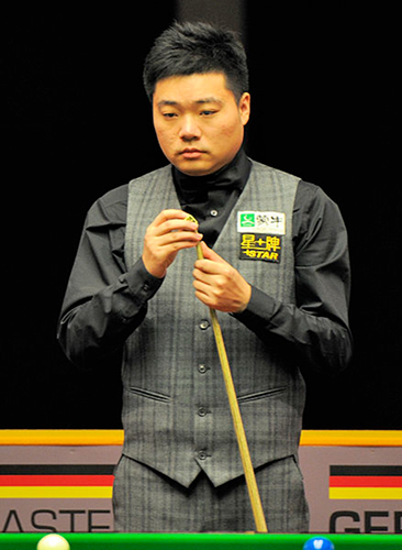 Ding Junhui est le meilleur joueur chinois en 2018