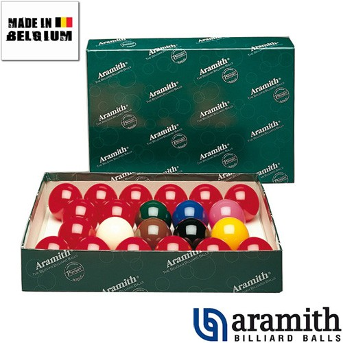 Billes Snooker 22 Billes Aramith 50.8 mm