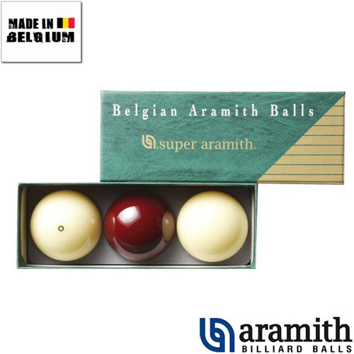 Billes Super Aramith Carambole 61,5 mm