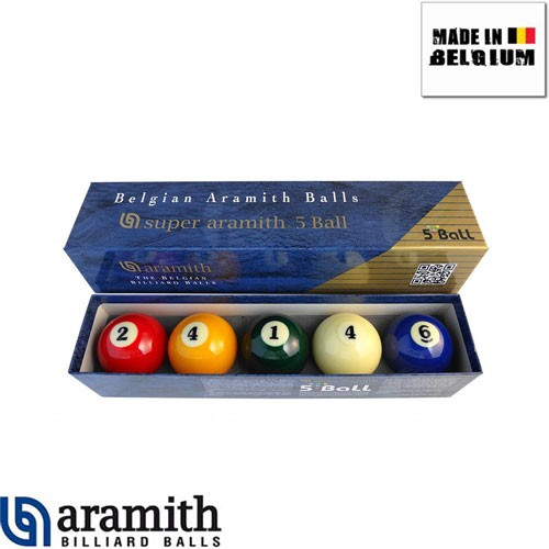 Jeu de Billes Super Aramith 5 Ball