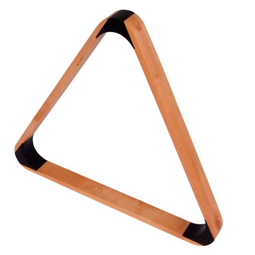 Triangle Bois luxe Naturel 57 mm