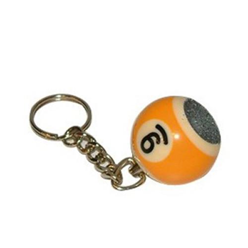 Porte-clefs boule abrasif n° 9