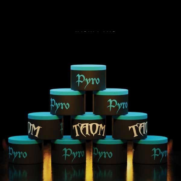 Craie de Billard Taom Pyro Bleue (à l'unité)