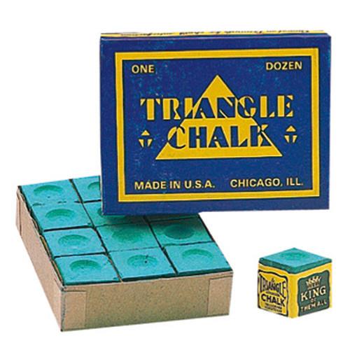 Boîte de 12 craies Triangle verte