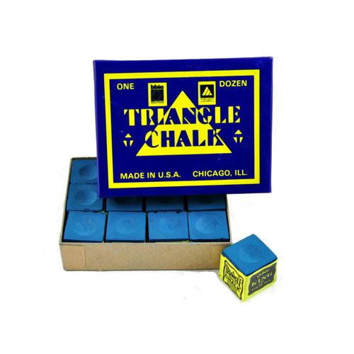 Boîte de 12 craies Triangle Bleue