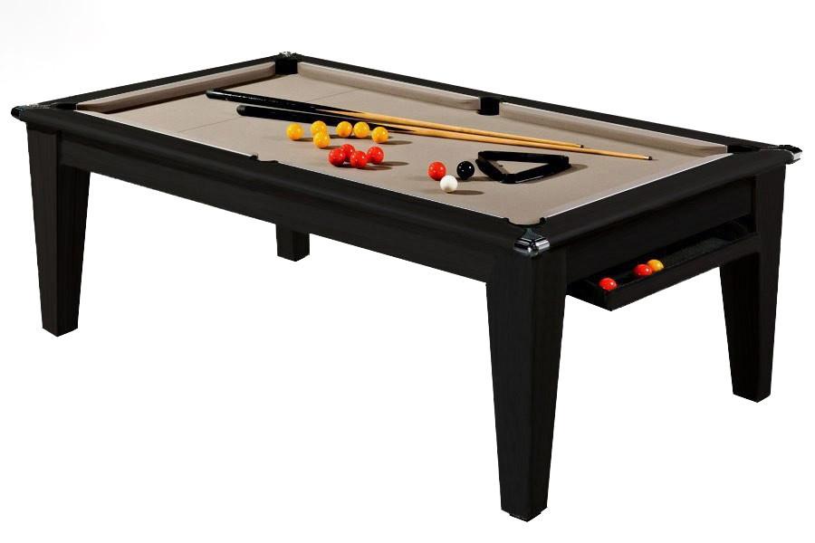 Billard Pool York 7ft Noir