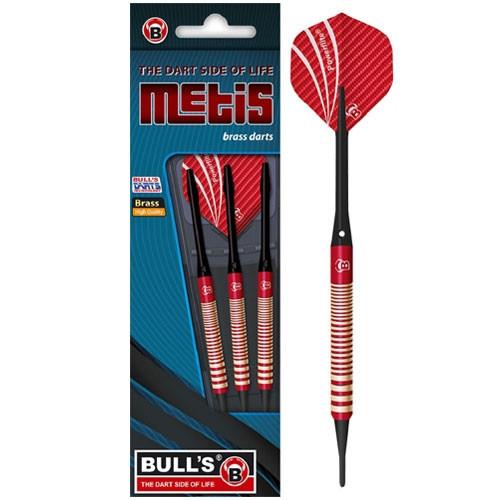 Fléchettes Bull's Metis Soft Rouge 18Grs
