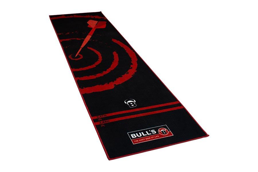 Tapis Pas de Tir Bull's Rouge