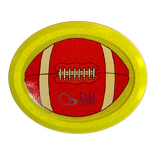 Palet Air Hockey 2000 Ovale Jaune