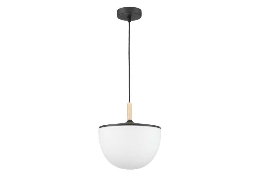 Suspension Tigne 1 Globe Blanc