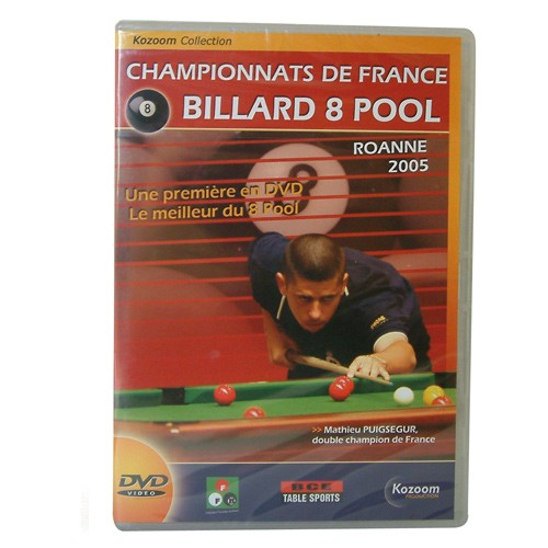 DVD Championnat de France 8 Pool