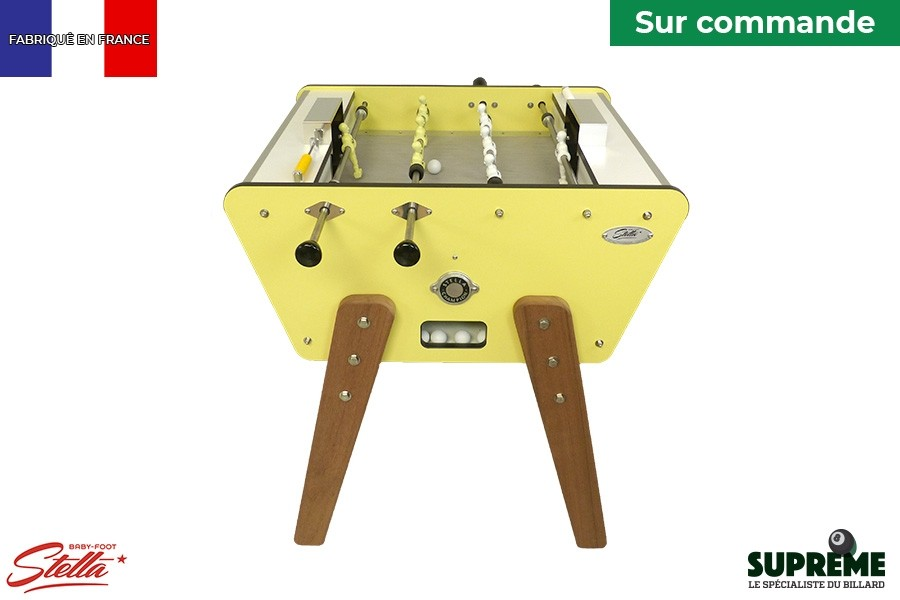 Baby foot Stella Sixties Toi & Moi Outdoor Jaune