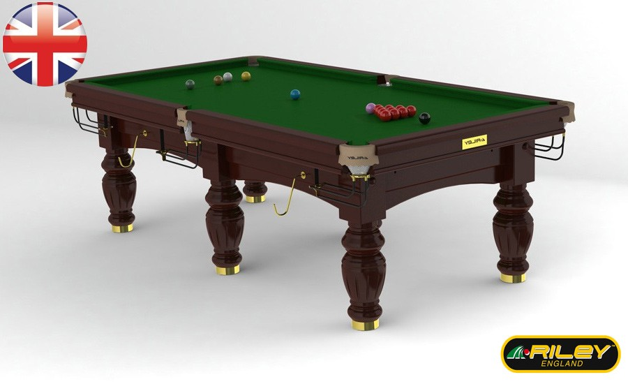 Snooker RILEY Aristocrat 8 ft Acajou