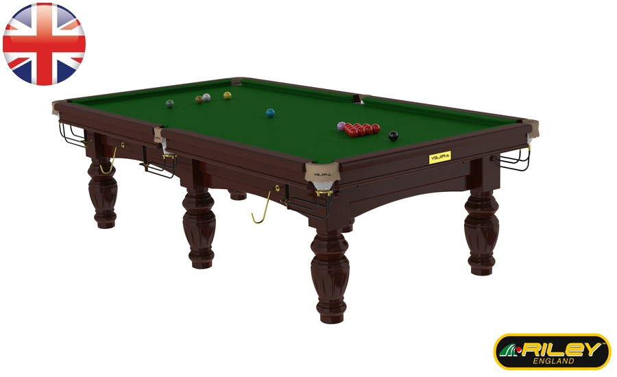 Snooker RILEY Aristocrat 10 ft Acajou