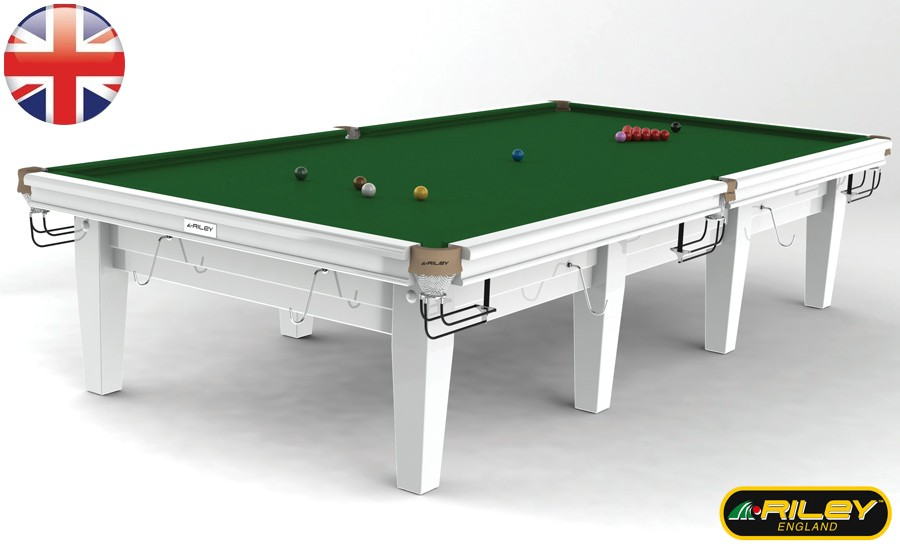 Snooker RILEY Grand 12 ft Blanc