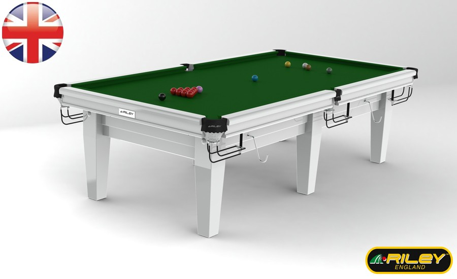Snooker RILEY Grand 9 ft Blanc