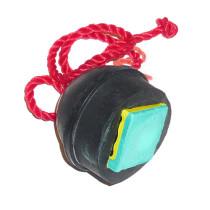 Porte-Craie boule caoutchouc noir