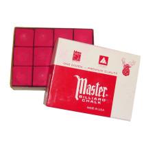 Boîte de 12 craies Master rouge