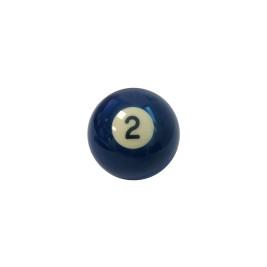 Bille US Aramith Bleu N°2 50,8mm