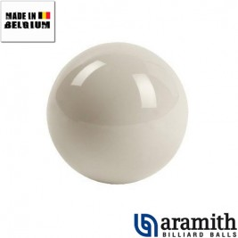 Bille blanche Aramith 52.4 mm