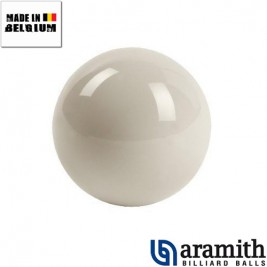 Bille blanche Aramith 61,5 mm