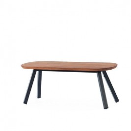 Banc You and Me Noir-Iroko 120