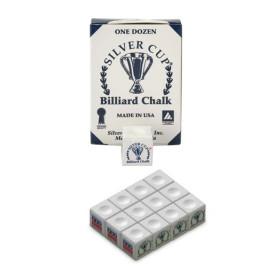 Boîte de 12 craies Silver Cup Blanc