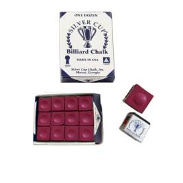Boîte de 12 craies Silver Cup Bordeaux