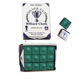 Boîte de 12 craies Silver Cup Vert