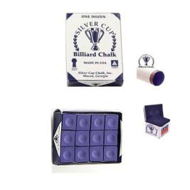 Boîte de 12 craies Silver Cup Violet