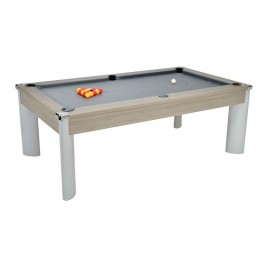 Billard Pool Fusion 7ft Gris Clair